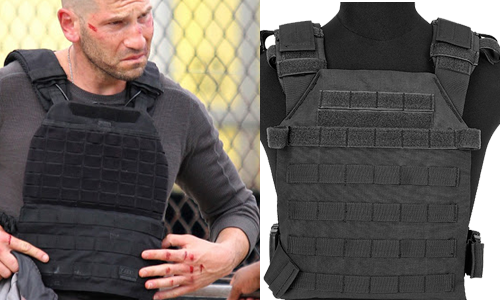 punisher bulletproof vest