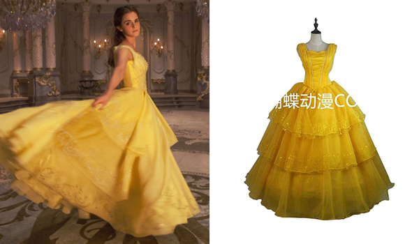 Belle Costume Guide (Beauty and the Beast 2017 movie)