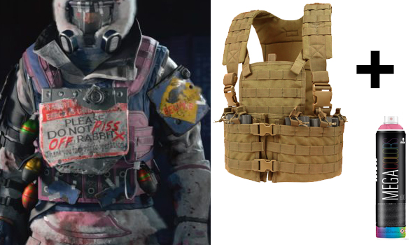 Carat Thief Costume Guide Bunny Outfit In Call Of Duty Black Ops 4