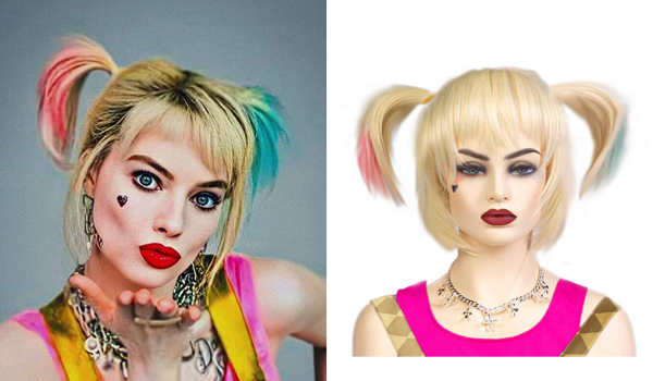 Harley Quinn Birds of Prey wig