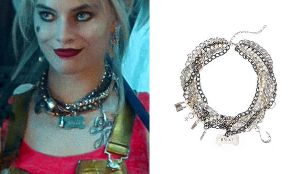 Harley Quinn Necklace in Birds of Prey