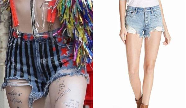 Harley Quinn shorts BOP