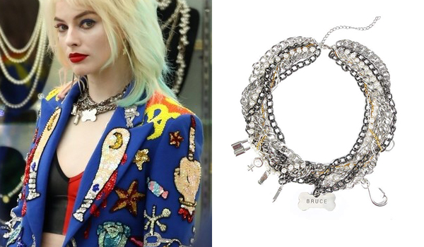 Margot robbie Necklace in Birds of Prey (Harley Quinn)