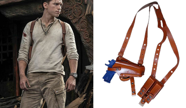 Nathan Drake (Tom Holland) Holster in Uncharted